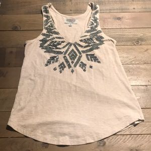 Urban Outfitters Tribal Beaded Tank